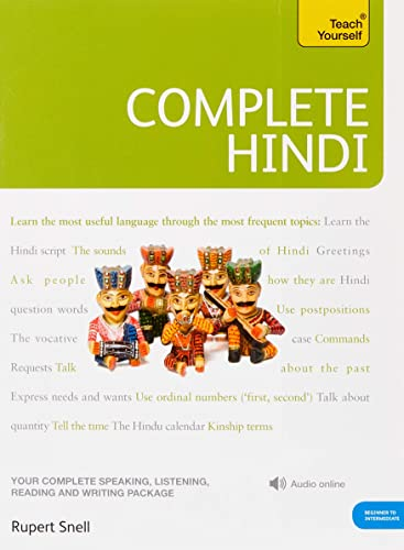 Complete Hindi Beginner to Intermediate Course: (Book and online audio support) (Teach Yourself) von Hodder And Stoughton Ltd.