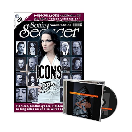 Sonic Seducer Sonderedition: Icons - die Stars und ihre Einflussgeber, Titelstory: Tarja + exklusive Depeche Mode Tribute-CD: 30 Years Of Black Celebration, Bands: The Cure, HIM u.v.a. von Thomas Vogel Media