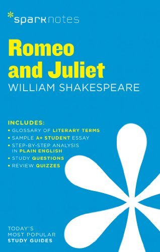 Romeo and Juliet SparkNotes Literature Guide von Spark Notes