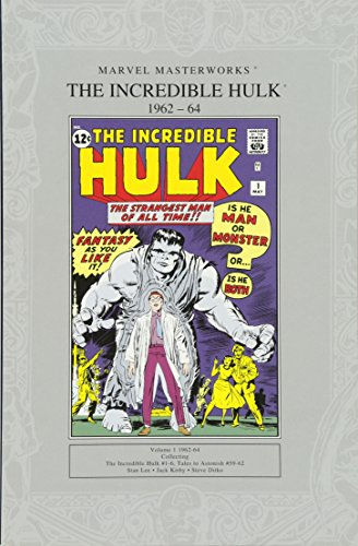 Marvel Masterworks: The Incredible Hulk 1962-64 von Panini Publishing Ltd