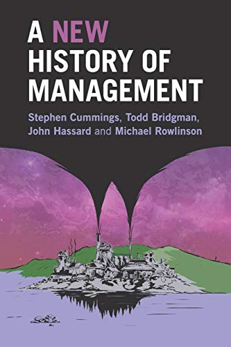 A New History of Management von Cambridge University Press