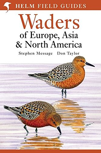 Waders of Europe, Asia and North America: Helm Field Guide (Helm Field Guides)
