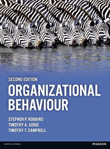 Organizational Behaviour von Pearson Education Limited