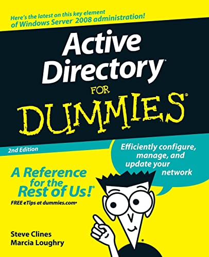 Active Directory For Dummies (For Dummies Series) von For Dummies