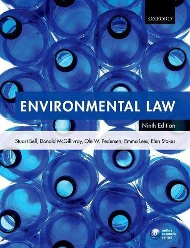 Environmental Law von Oxford University Press, USA