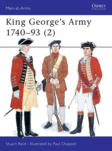 002: King George's Army 1740-93 (2) (Men-at-Arms, Band 289)