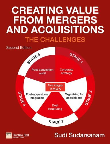 Creating Value from Mergers and Acquisitions von Financial Times Prent.