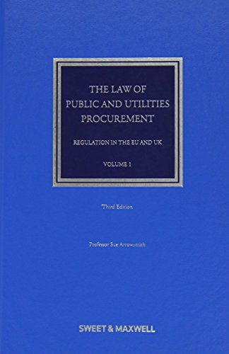 The Law of Public and Utilities Procurement von Sweet & Maxwell