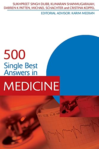 500 Single Best Answers in Medicine (Medical Finals Revision)