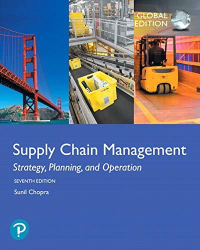 Supply Chain Management: Strategy, Planning, and Operation, Global Edition von Pearson