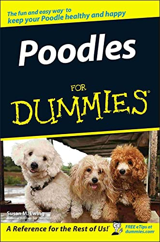 Poodles For Dummies (For Dummies Series)