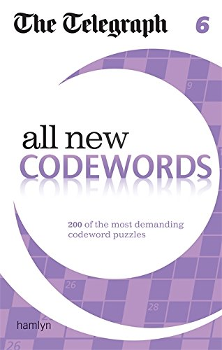 The Telegraph: All New Codewords 6 (The Telegraph Puzzle Books) von Hamlyn