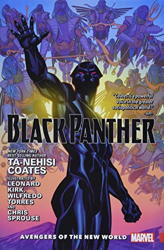 Black Panther Vol. 2: Avengers of the New World (Black Panther by Ta-Nehisi Coates (2016) HC, Band 2) von Marvel
