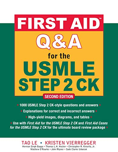 First Aid Q&A for the USMLE Step 2 CK (First Aid USMLE) von McGraw-Hill Education Ltd