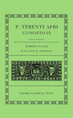 Terence Comoediae (Oxford Classical Texts) von Oxford University Press; Clarendon Press