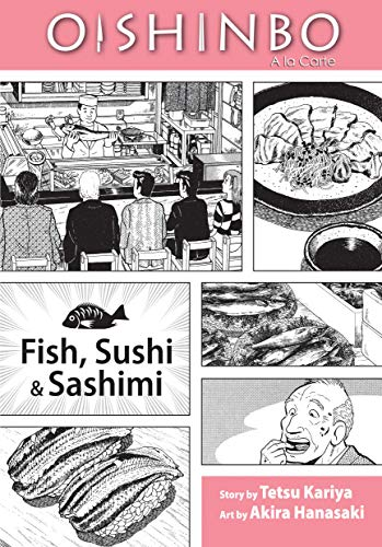 OISHINBO GN VOL 04 FISH SUSHI & SASHIMI (C: 1-0-0)