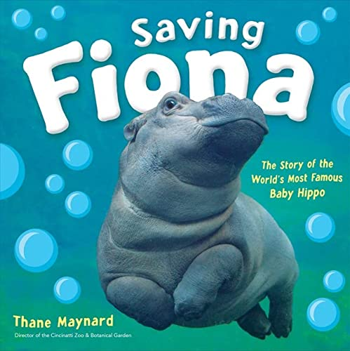 Saving Fiona: The Story of the World's Most Famous Baby Hippo von HMH Books for Young Readers