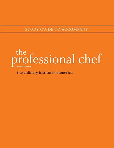 Study Guide to Accompany: The Professional Chef