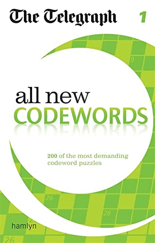 The Telegraph: All New Codewords 1 (The Telegraph Puzzle Books) von Hamlyn