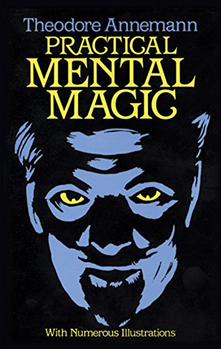 Practical Mental Magic: 16 Art Stickers (Dover Magic Books) von Dover Publications Inc.