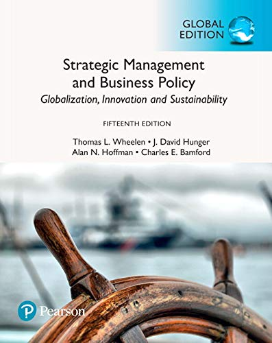 Wheelen, T: Strategic Management and Business Policy von Pearson