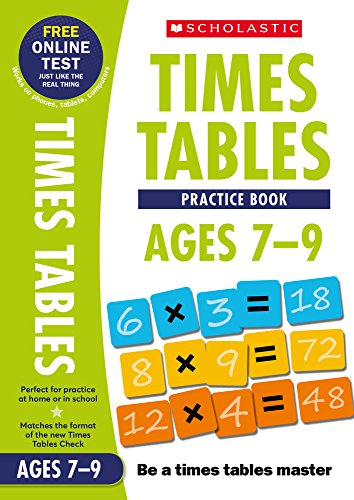 Workbook Ages 7-9 (National Curriculum Times Tables) von Scholastic