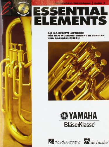 Essential Elements, für Tenorhorn/Euphonium in B (TC), m. Audio-CD von De Haske (Deutschland)