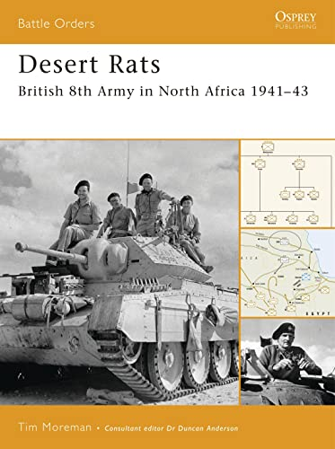 Desert Rats: British 8th Army in North Africa 1941-43 (Battle Orders, Band 28) von Osprey Publishing