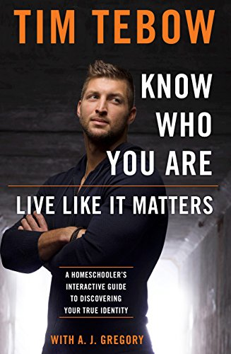 Know Who You Are. Live Like It Matters.: A Homeschooler's Interactive Guide to Discovering Your True Identity von WaterBrook