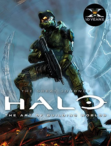 Halo: The Great Journey...The Art of Building Worlds von Titan Books