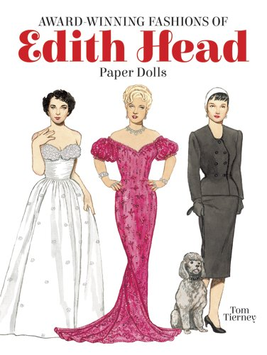 Award-Winning Fashions of Edith Head Paper Dolls