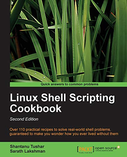 Linux Shell Scripting Cookbook, Second Edition (English Edition)