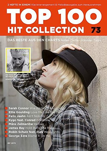 Top 100 Hit Collection 73: 8 Chart Hits: Love Me Like You Do - Ain't Nobody - Wie schön du bist - Hold Back The River - Headlights - Firestone - ... Band 73. Klavier / Keyboard. (Music Factory) von Schott