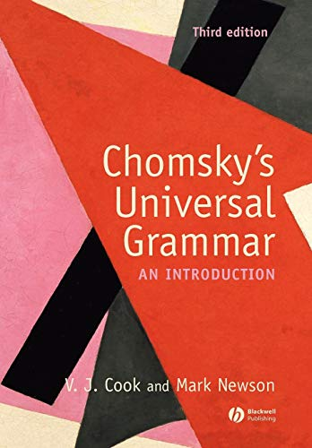 Chomsky's Universal Grammar: An Introduction von Wiley-Blackwell