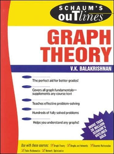 Schaum's Outline of Graph Theory: Including Hundreds of Solved Problems (Schaum's Outlines) von McGraw-Hill Education