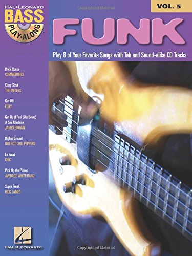 Bass Play-Along Volume 5: Funk: Noten, Play-Along, Bundle, CD für Bass-Gitarre von HAL LEONARD