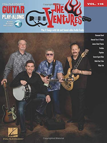 Guitar Play-Along Volume 116: The Ventures: Noten, Play-Along, Bundle, CD für Gitarre von HAL LEONARD