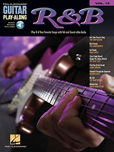 Guitar Play Along Volume 15 R & B Gtr Tab Bk/Cd