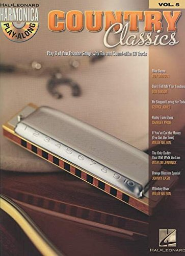 Harmonica Play-Along Volume 5: Country Classics: Play-Along, CD für Mundharmonika (diat./chr.) von Hal Leonard