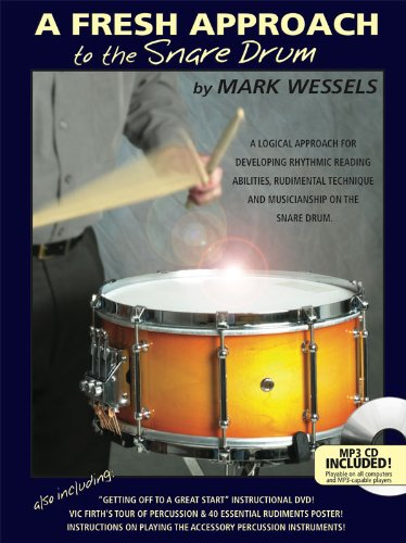 A Fresh Approach To The Snare Drum: Noten, CD, Lehrmaterial für Percussion von Hudson Music Europe