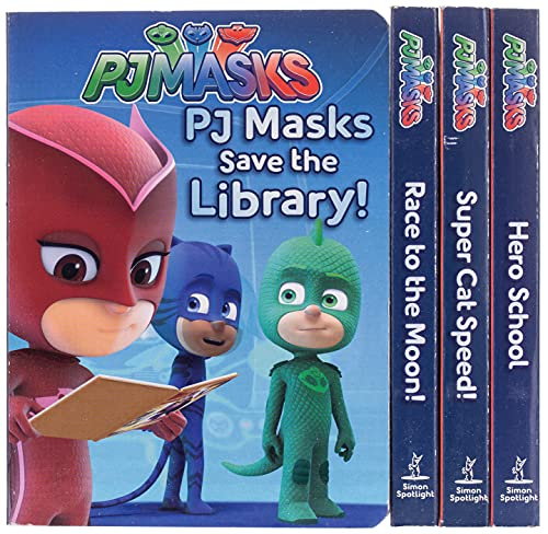 The Little Box of Big Heroes: PJ Masks Save the Library; Hero School; Super Cat Speed; Race to the Moon! von Simon Spotlight