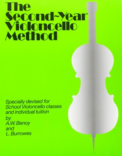 The Second-Year Cello Method Vlc von Novello & Company