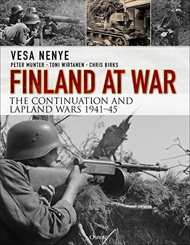 Finland at War: The Continuation and Lapland Wars 1941–45 von Bloomsbury Trade; Osprey Publishing
