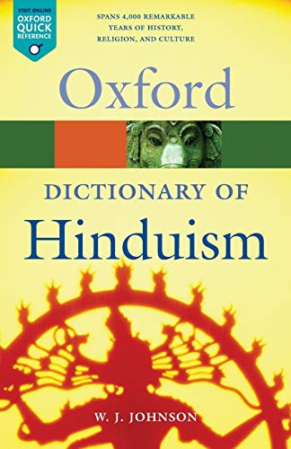 A Dictionary of Hinduism (Oxford Paperback Reference) von Oxford University Press, USA