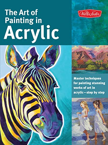 Art of Painting in Acrylic (Collector's)