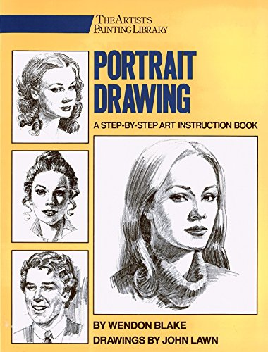 Portrait Drawing: A Step-By-Step Art Instruction Book (Artist's Painting Library) von Watson-Guptill