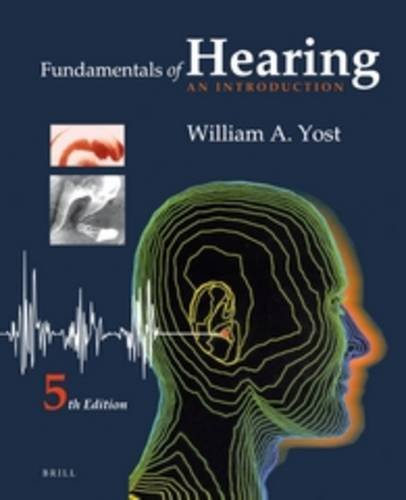 Fundamentals of Hearing: An Introduction von Brill