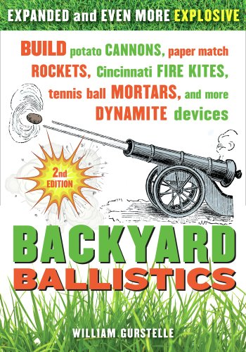 Backyard Ballistics: Build Potato Cannons, Paper Match Rockets, Cincinnati Fire Kites, Tennis Ball Mortars, and More Dynamite Devices von Chicago Review Press