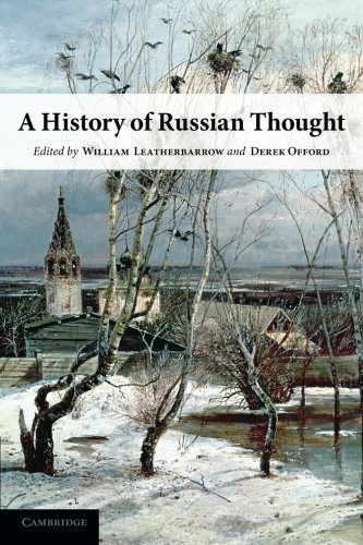 A History of Russian Thought von Cambridge University Press
