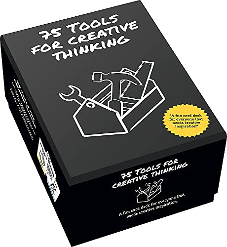 75 Tools for Creative Thinking: A Fun Card Deck for Creative Inspiration von Wimer Hazenberg Menno Huisman